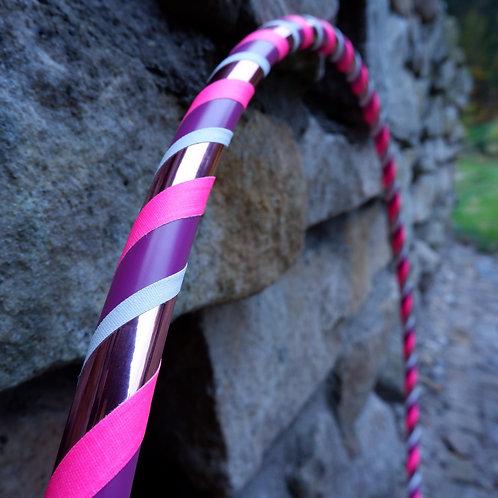 Jemná růžová obruč hula hoop