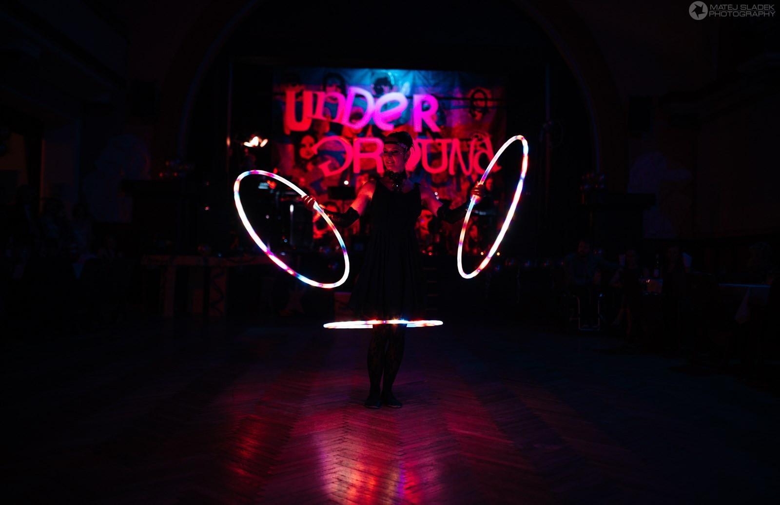 Underground ball