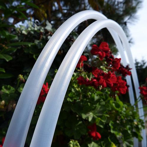 Velvet natural Polypro hula hoop