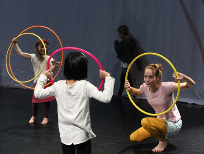 Hoop workshop for kids