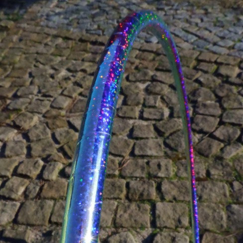 Moon sequin hula hoop