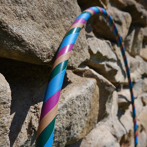 Matná jemná obruč hula hoop