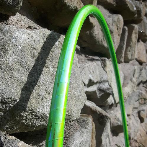 Toxic lime měnící obruč hula hoop
