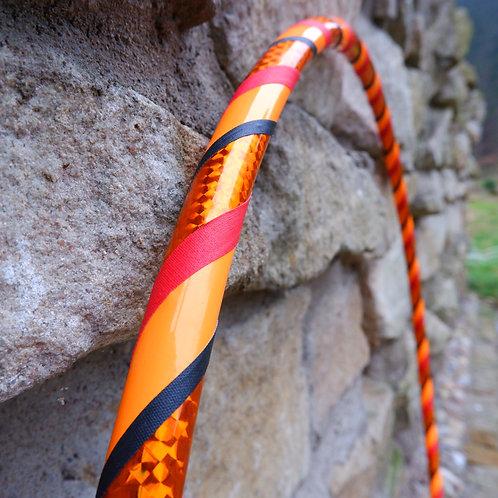 Tones of orange hula hoop