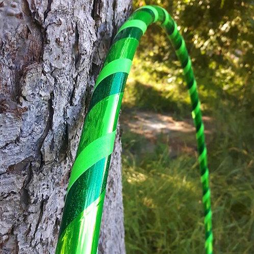 Tóny zelené obruč hula hoop