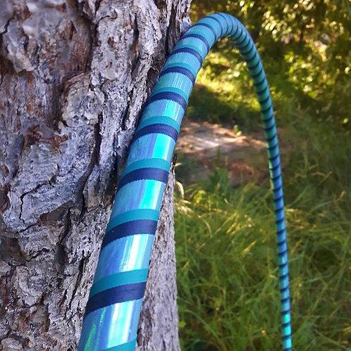 Tyrkysová II. měnící obruč hula hoop