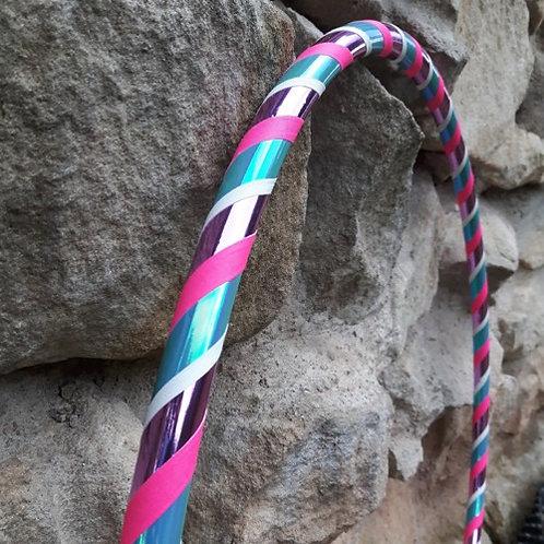 Světlanka růžová obruč hula hoop