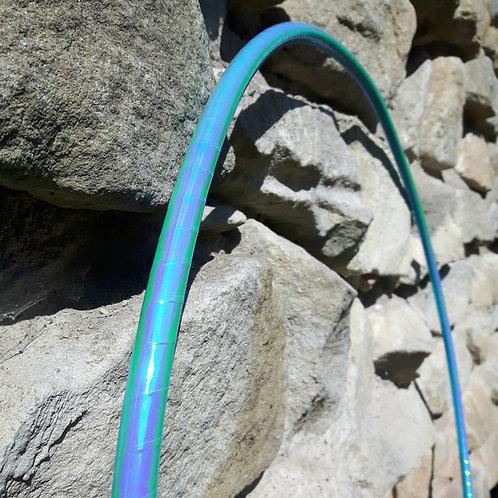 Tyrkysová měnící obruč hula hoop