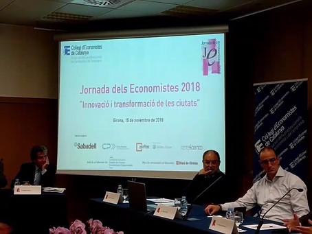 """Jornada """"Ciutat i Innovació"""" organitzada pel Col·legi d'Economistes de Girona"""