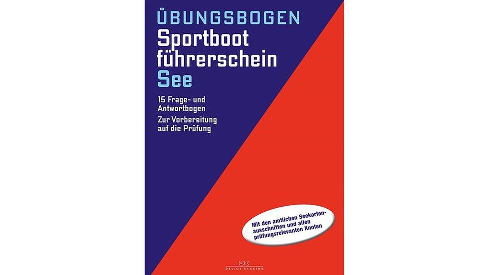 Sportbootführerschein See - Übungsbogen