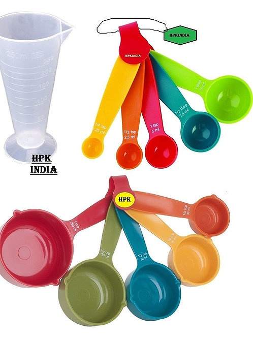 HPK MEASURING CUPS SPOONS KITCHEN-MEASURING TOOLS
