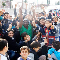 With over 1.5 million Syrian refugees in Turkey 75% of them are women and children