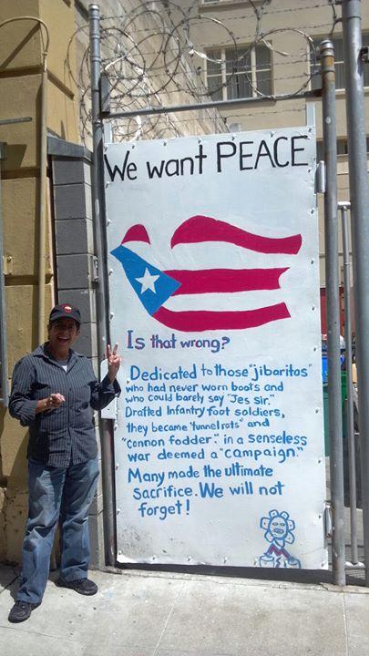 Facebook - Maria completing her peace in vets alley.jpg.jpg.jpgfirst female vete