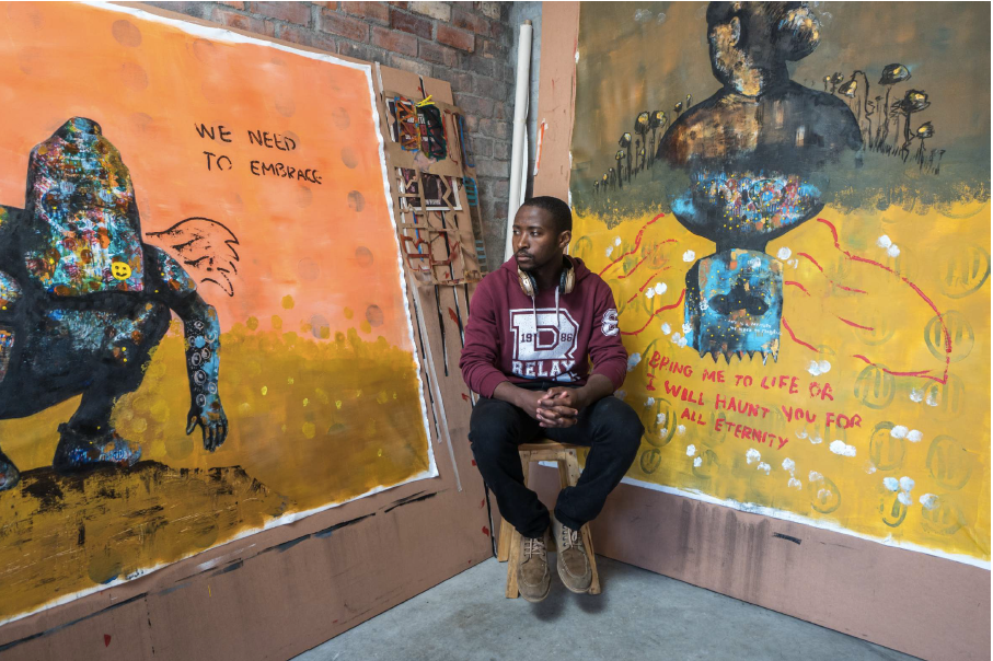 Buhle Nkalashe, Contemporary artist