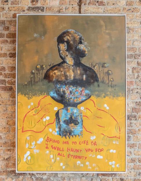 Buhle Nkalashe, Contemporary Art,