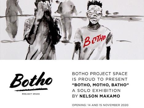 NELSON MAKAMO SOLO EXHIBITION: BOTHO, MOTHO, BATHO