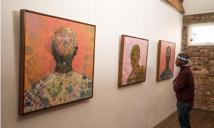 Buhle Nkalashe, New African, Artist