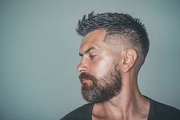89745747-man-with-bearded-face-profile-a