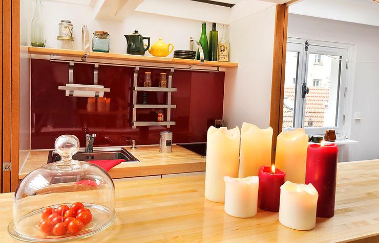 Une cuisine ouverte tout intégré