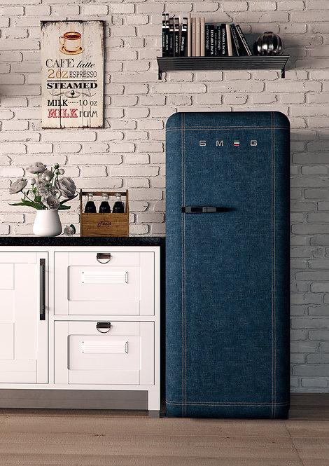 """Réfrigérateur et congélateur SMEG """"années 50"""""""