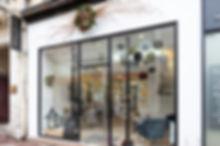 Façade en Krion boutique Paris