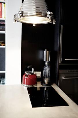 Une mini cuisine tout équipée