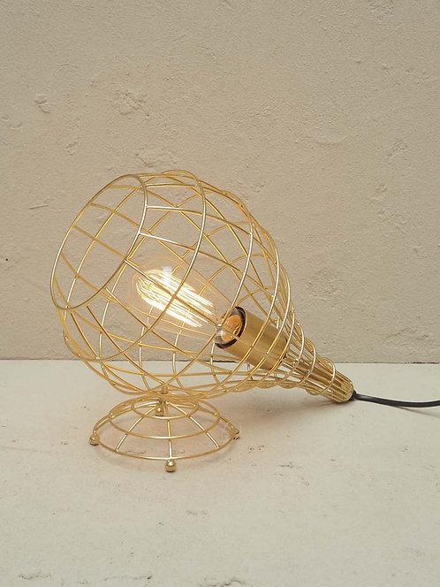 """Lampe à poser """"Nest"""" doré"""