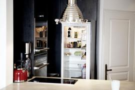 Une mini cuisine tout intégrée