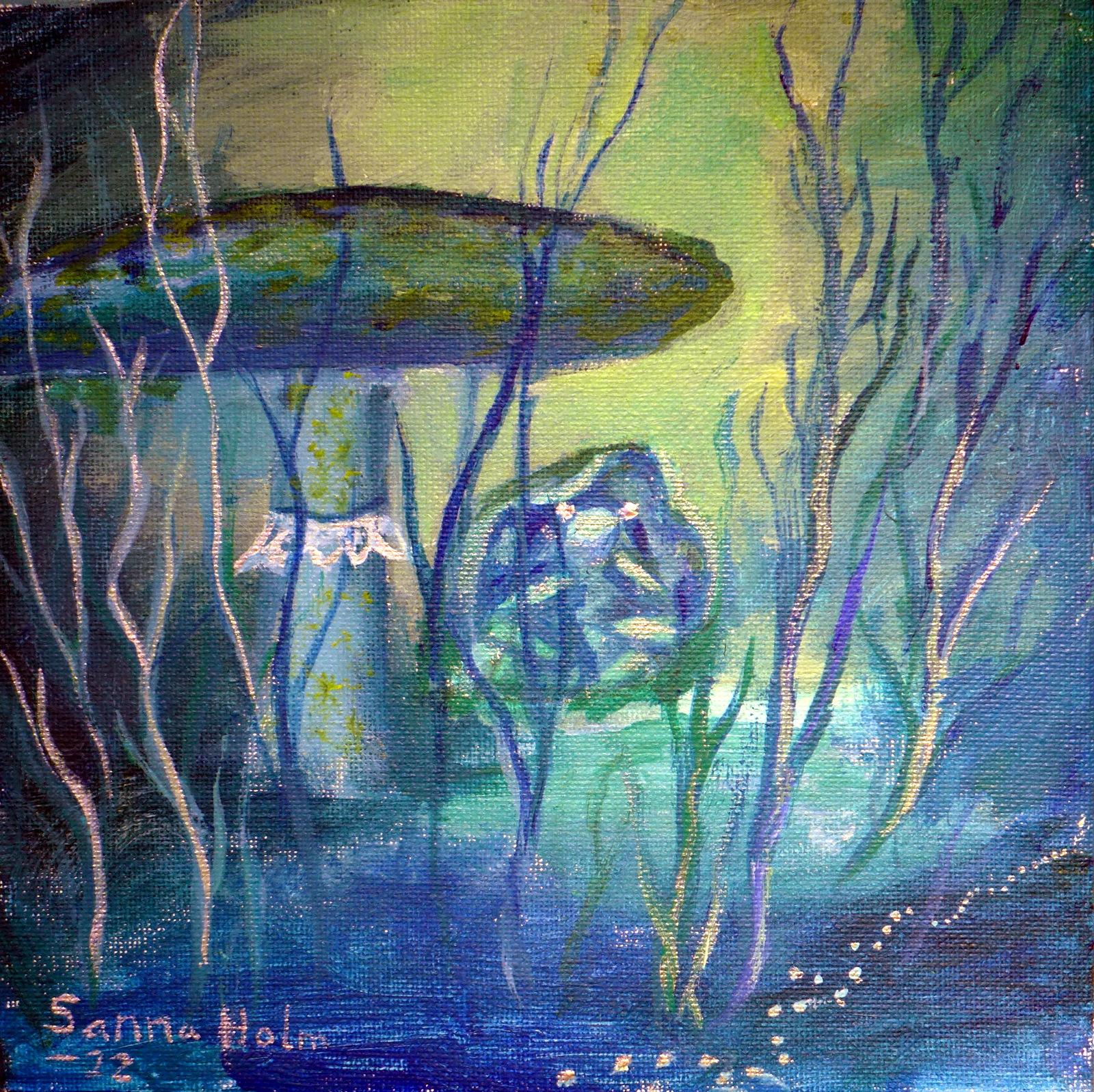 blue mystic - ©sanna holm 2014