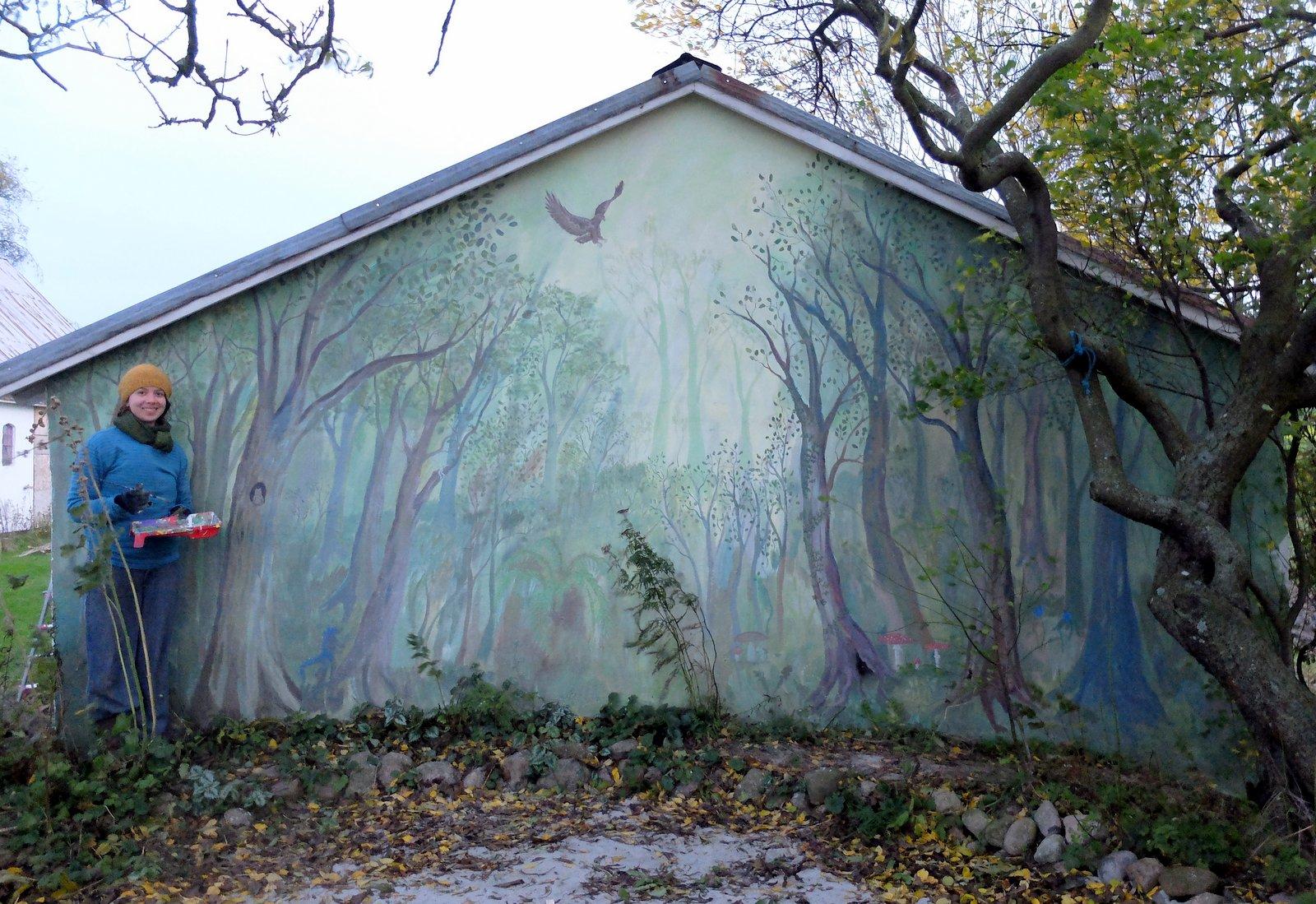 Skovmaleri Bornholm