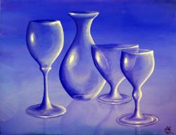 Blue glass - ©sanna holm 2014