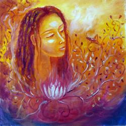 lotus woman - ©sanna holm 2014