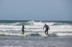 Joe O'Connor & Amanda Bunton Cornwall Surf Yoga Retreat Wild Free