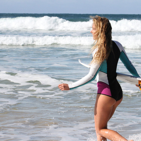 Inspired: Pro-Surfing with Lucy Campbell