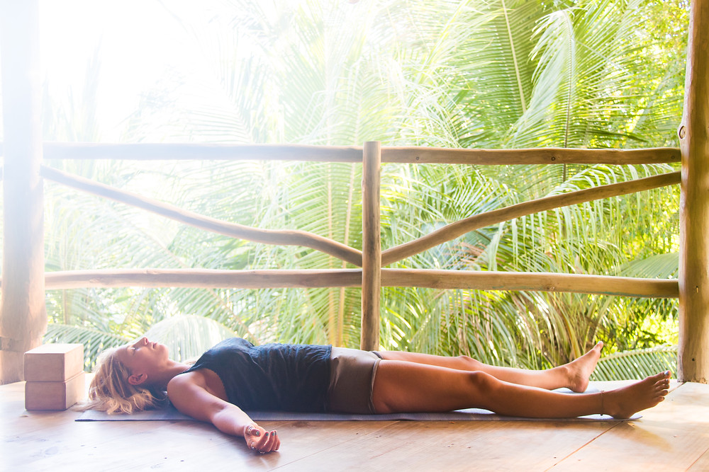 Wild and Free Surf and Yoga Yin Poses for Shoulders