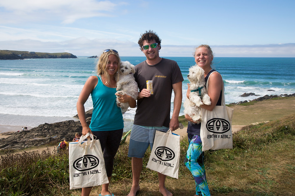 animal goody bags surf and yoga day