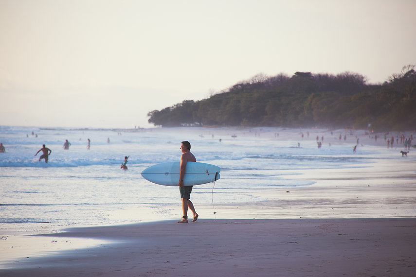 Wild and Free Surf and Yoga Retreats Philly Lewis Alan Stokes Surf and yoga retreat in costa rica