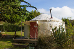 Yurt accommodation Cornwall Surf Yoga Retreat Wild Free