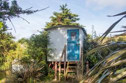 Shepards hut Cornwall Surf Yoga Retreat Wild Free