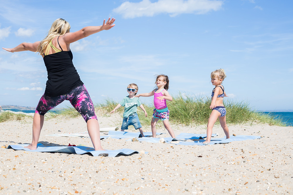 Wild & Free Adventures, children's yoga, family friendly retreats, surf and yoga retreats, children's retreats, family holidays, wild & free kids yoga, cornwall, bournemouth