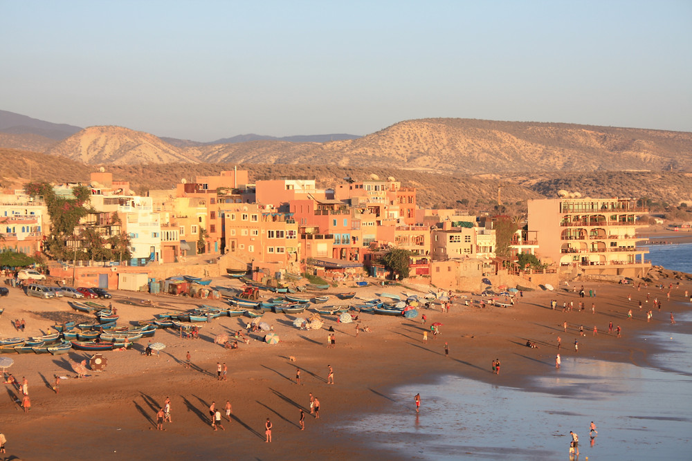 Taghazout, morocco, philly lewis, surf and yoga retreat