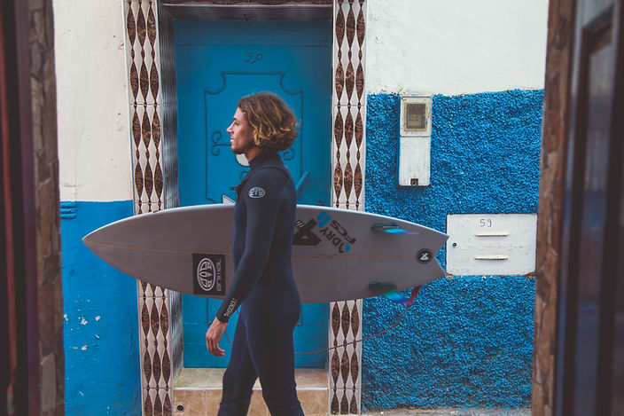 Wild and Free Surf and Yoga Retreats Philly Lewis Alan Stokes Surf and yoga retreat in Morocco