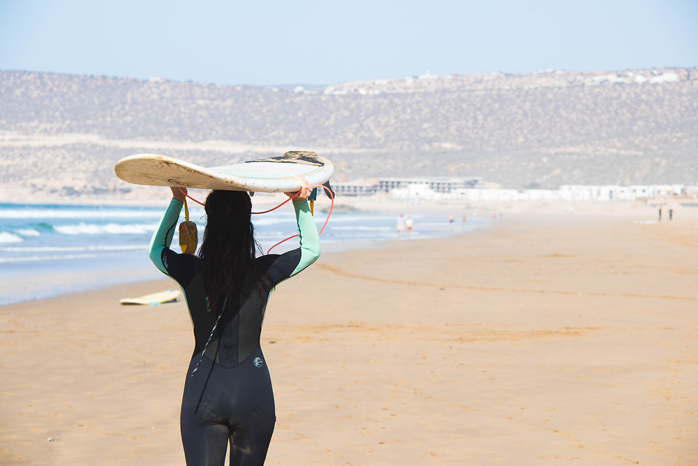 Wild & Free Adventures Surf and Yoga Retreats AmayourSurf Morocco Surfers Against Sewage Beach Clean Up Alan Stokes Philly Lewis