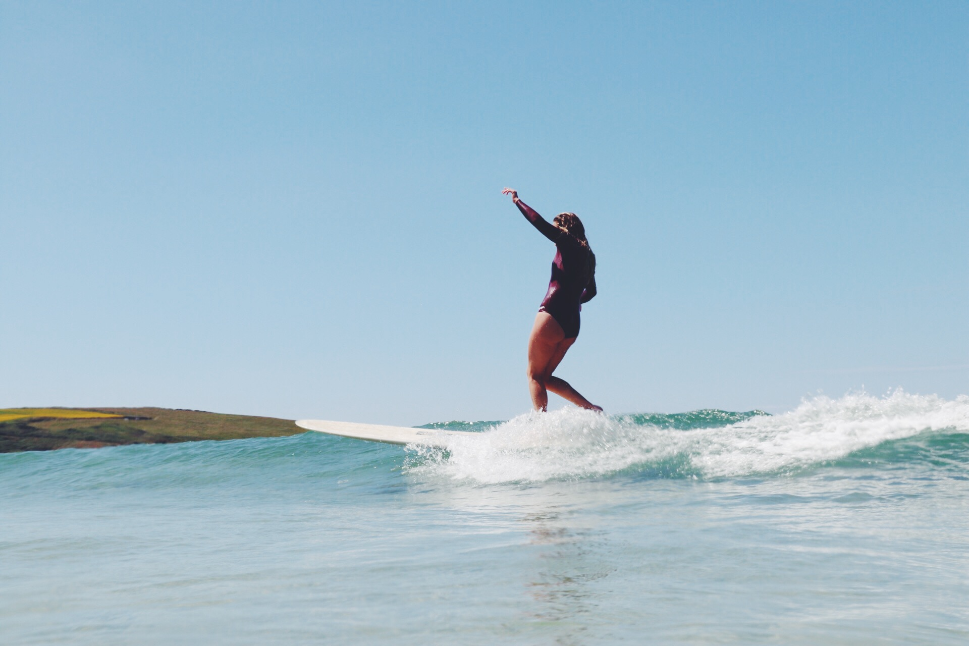 Cornwall Surf Yoga Retreat Wild Free