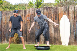 Surf coaching with Alan Stokes Cornwall Surf Yoga Retreat Wild Free