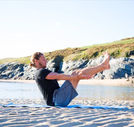 Yoga For Surfers - Alan Stokes For CARVE Magazine