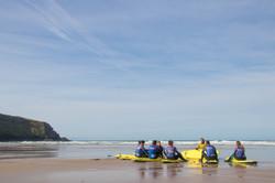 Surf coaching Cornwall Surf Yoga Retreat Wild Free