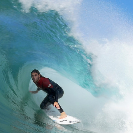 Alan Stokes Surfing With Samsung And Vice Sports
