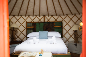 cornwall yurt retreat