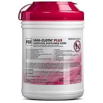 Sani-Cloth Plus Germicidal Disposable Surface Wipes Amsino